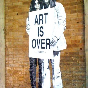 Art is Over indeed MBW