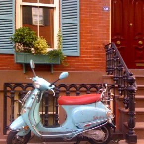 Matching Vespa with the House